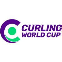2018 Curling World Cup First Leg Logo