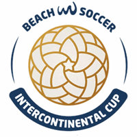 2018 Beach Soccer Intercontinental Cup Logo