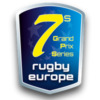 2018 Rugby Europe Sevens Grand Prix Series 1 Logo