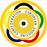 2020 European Shooting Championships Shotgun Logo