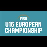 2020 FIBA U16 European Basketball Championship Division B Logo