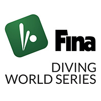 2020 FINA Diving World Series Logo