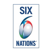 2018 Rugby Six Nations Championship Week 5 Logo