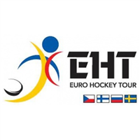 2018 Euro Hockey Tour Sweden Hockey Games Logo