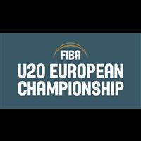 2019 FIBA U20 European Basketball Championship Division B Logo