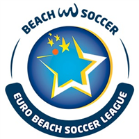 2018 Euro Beach Soccer League Stage 1 Logo