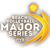 2018 Beach Volleyball Major Series Logo