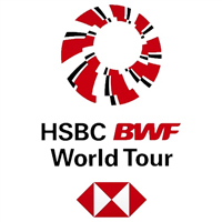 2018 BWF Badminton World Tour Logo