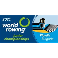 2021 World Rowing Junior Championships Logo
