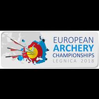 2018 European Archery Championships Logo