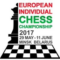 2017 European Individual Chess Championship Logo
