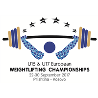2017 European Youth Weightlifting Championships Logo