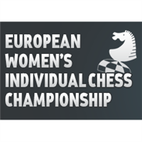 2018 European Individual Women Chess Championship Logo