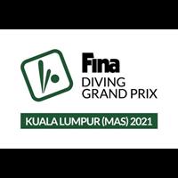 2021 FINA Diving Grand Prix Logo