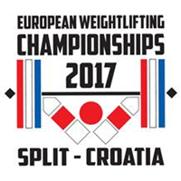 2017 European Weightlifting Championships Logo