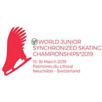 2019 World Junior Synchronized Skating Championships Logo