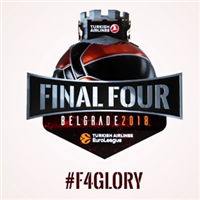 2018 Euroleague Basketball Final Four Logo