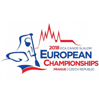 2018 European Canoe Slalom Championships Logo
