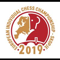 2019 European Individual Chess Championship Logo