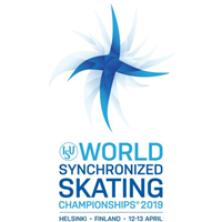 2019 World Synchronized Skating Championships Logo