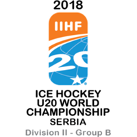 2018 Ice Hockey U20 World Championship Division II B Logo