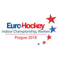 2018 EuroHockey Indoor Championship Women Logo