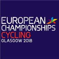 2018 European Road Cycling Championships Time Trial Logo