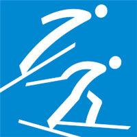 2018 Winter Olympic Games Normal hill Logo