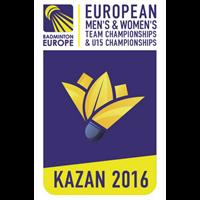2016 European Team Badminton Championships Logo