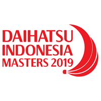 2019 BWF Badminton World Tour Indonesia Masters Logo