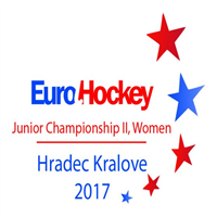 2017 EuroHockey Junior Championships II Women Logo