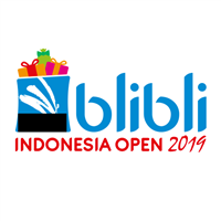 2019 BWF Badminton World Tour Indonesia Open Logo