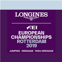 2019 Equestrian European Championships Show Jumping and Dressage Logo