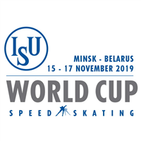 2020 Speed Skating World Cup Logo