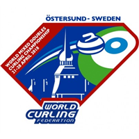 2018 World Mixed Doubles Curling Championship Logo