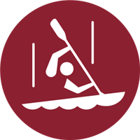 2020 Summer Olympic Games - Slalom Logo