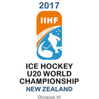 2017 Ice Hockey U20 World Championship Division III Logo