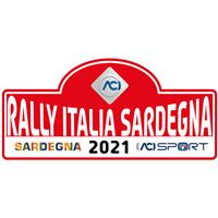 2021 World Rally Championship - Rally Italia Sardegna Logo