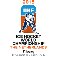 2018 Ice Hockey World Championship Division II A Logo