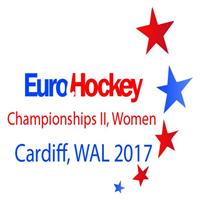 2017 EuroHockey Championships II Women Logo