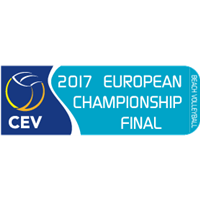 2017 Beach Volleyball European Championships Logo