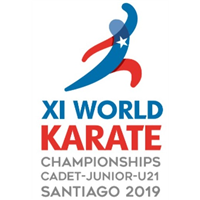 2019 Karate Junior World Championships Logo