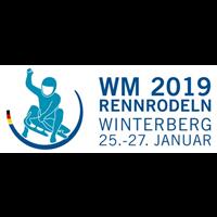 2019 Luge World Championships Logo
