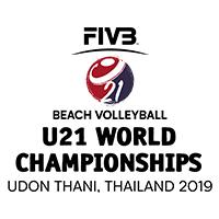 2019 U21 Beach Volleyball World Championships Logo