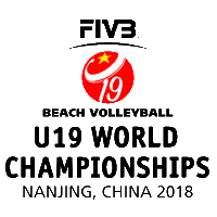 2018 U19 Beach Volleyball World Championships Logo