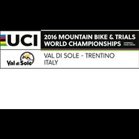 2016 UCI Mountain Bike World Championships DHI/4X Logo