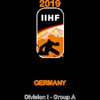 2019 Ice Hockey U20 World Championship Division I A Logo