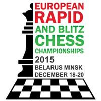 2015 European Rapid and Blitz Chess Championships Logo