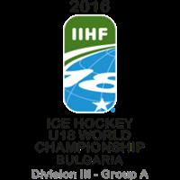 2016 Ice Hockey World U18 Championships Division III A Logo