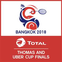 2018 Badminton Thomas and Uber Cup Logo
